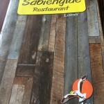 サムイ島のレストラン ヒンタ・ヒンヤイの近くのサビアンレー