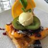 ロトルアで美味しいワッフルを朝食に Lime Caffeteria