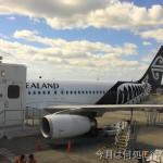 ニュージーランド航空 国内線エコノミークラス搭乗記