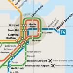 キングスフォードスミス国際空港からシドニー市内へ電車でアクセスする方法