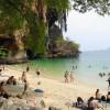 クラビ旅行記 陸の孤島ライレイ・プラナンビーチを散策