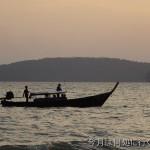クラビ旅行記 アオナンビーチの見どころは夕日