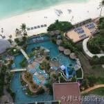 グアムの最高級ホテル・デュシタニグアムリゾート(Dusit Thani Guam Resort) プール・ビーチ編