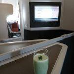 2017年2月 キャセイパシフィック航空 CX532便 A333 ビジネスクラス搭乗記